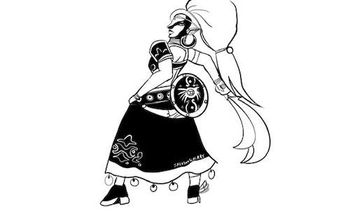 Basic Line Sketch (Head, Bust, or Full Body)