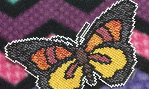 Butterfly #3 Cross Stitch Pattern