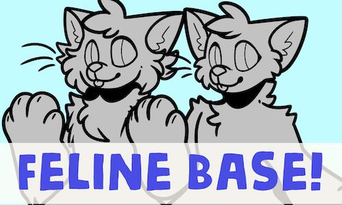 Anthro Feline Base (2017)