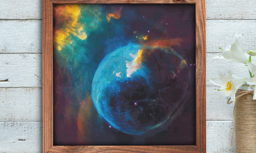 [CROSS STITCH PATTERN] Nebula