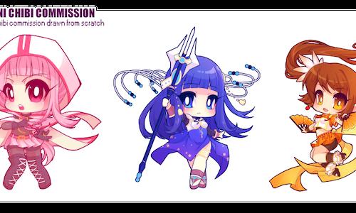 Custom Mini Chibi Commission