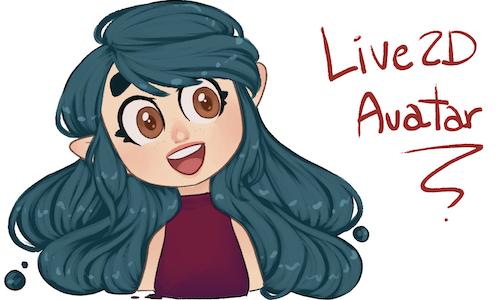 Live2D avatar