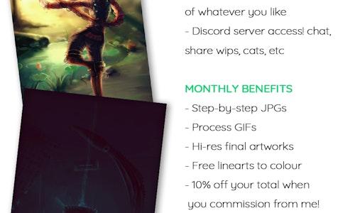 SEP 2016 Patreon Rewards