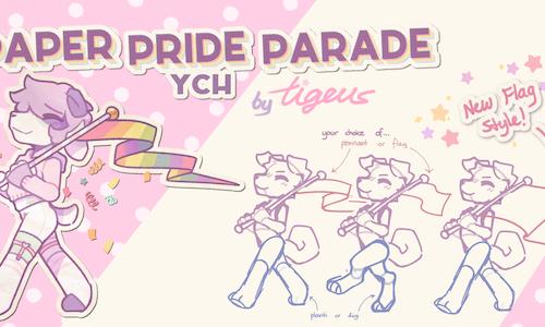 [YCH] Paper Pride Parade